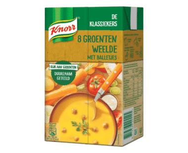 Knorr Classics Tetra Soep 8 Groenten en balletjes 1L Hopr online supermarkt