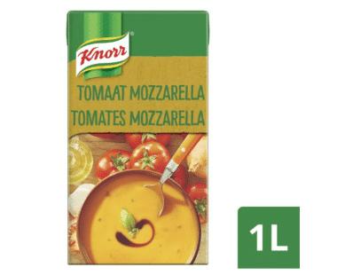 Knorr Classics Tetra Soep Tomaat en mozzarella met balsamico 1L Hopr online supermarkt
