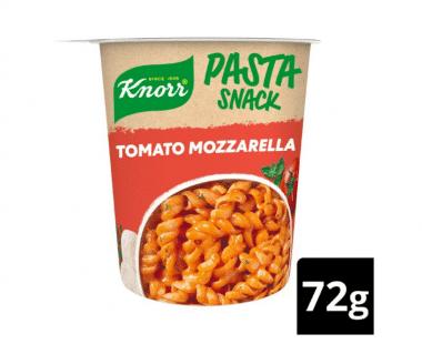 Knorr Instant Snack Pasta Tomato Mozarella 72g Hopr online supermarkt