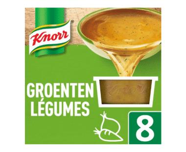 Knorr Keteltje Bouillon Groenten 8x28g Hopr online supermarkt