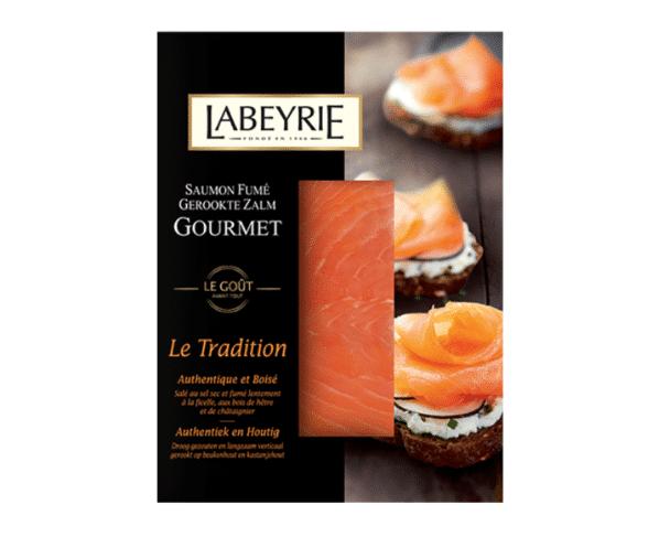 Labeyrie gerookte zalm Le Tradition 75g Hopr online supermarkt