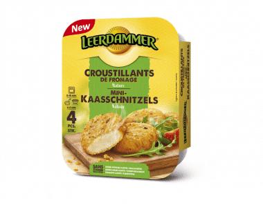 Leerdammer Kaasschnitzels Natuur 160g Hopr online supermarkt