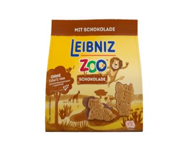 Leibniz Zoo koekjes chocolade 125g Hopr online supermarkt
