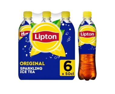 Lipton Ice Tea Bruisend Ice Tea Original 6x50cl Hopr online supermarkt