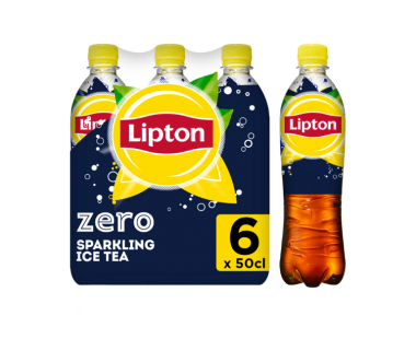 Lipton Ice Tea Bruisend Ice Tea ZERO sugar 6x50cl Hopr online supermarkt