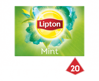 Lipton Pyramides Groene thee Intense Munt 20 theezakjes Hopr online supermarkt