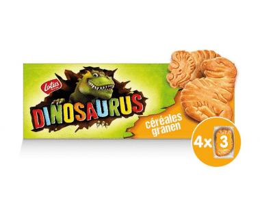 Lotus Dinosaurus met granen 4x3stuks Hopr online supermarkt