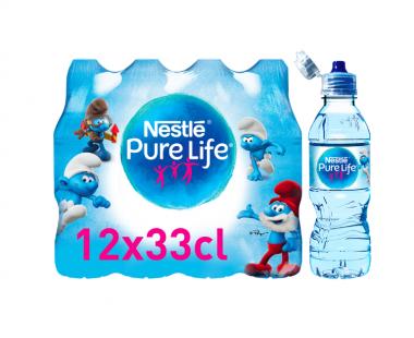 Nestlé PureLife Bronwater 12x33cl Hopr online supermarkt