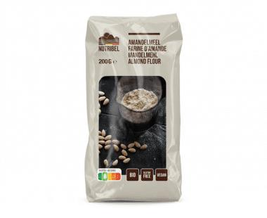 Nutridia Amandelmeel bio & glutenvrij 200g Hopr online supermarkt