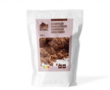 Nutridia Cacao poeder bio & raw 200g Hopr online supermarkt