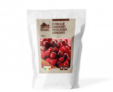 Nutridia Cranberries bio & raw 100g Hopr online supermarkt