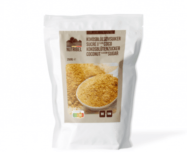 Nutridia Kokosbloesemsuiker bio & raw 250g Hopr online supermarkt