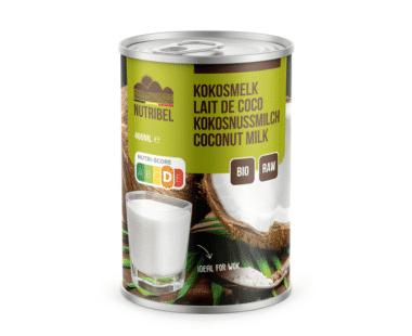 Nutridia Kokosmelk bio & glutenvrij 400ml Hopr online supermarkt