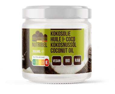 Nutridia Kokosolie extra vierge bio 300ml Hopr online supermarkt