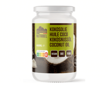 Nutridia Kokosolie extra vierge bio 600ml Hopr online supermarkt