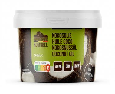 Nutridia Kokosolie geurloos bio 500ml Hopr online supermarkt