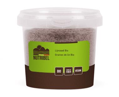 Nutridia Lijnzaad heel bio 200g Hopr online supermarkt