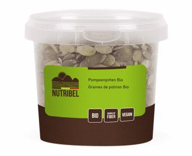 Nutridia Pompoenpitten bio 200g Hopr online supermarkt