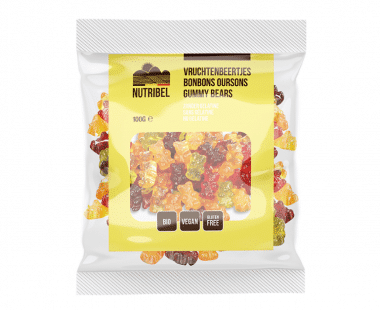Nutridia Vruchtenbeertjes bio 100g Hopr online supermarkt