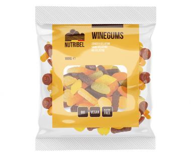 Nutridia Winegums bio 100g Hopr online supermarkt