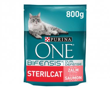 PURINA ONE BIFENSIS Sterilcat Kat zalm 800g Hopr online supermarkt