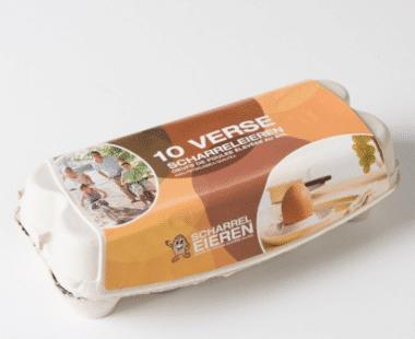 Verse scharreleieren 10 stuks Hopr online supermarkt