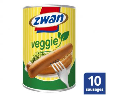 Zwan Worst Veggie 400g Hopr online supermarkt